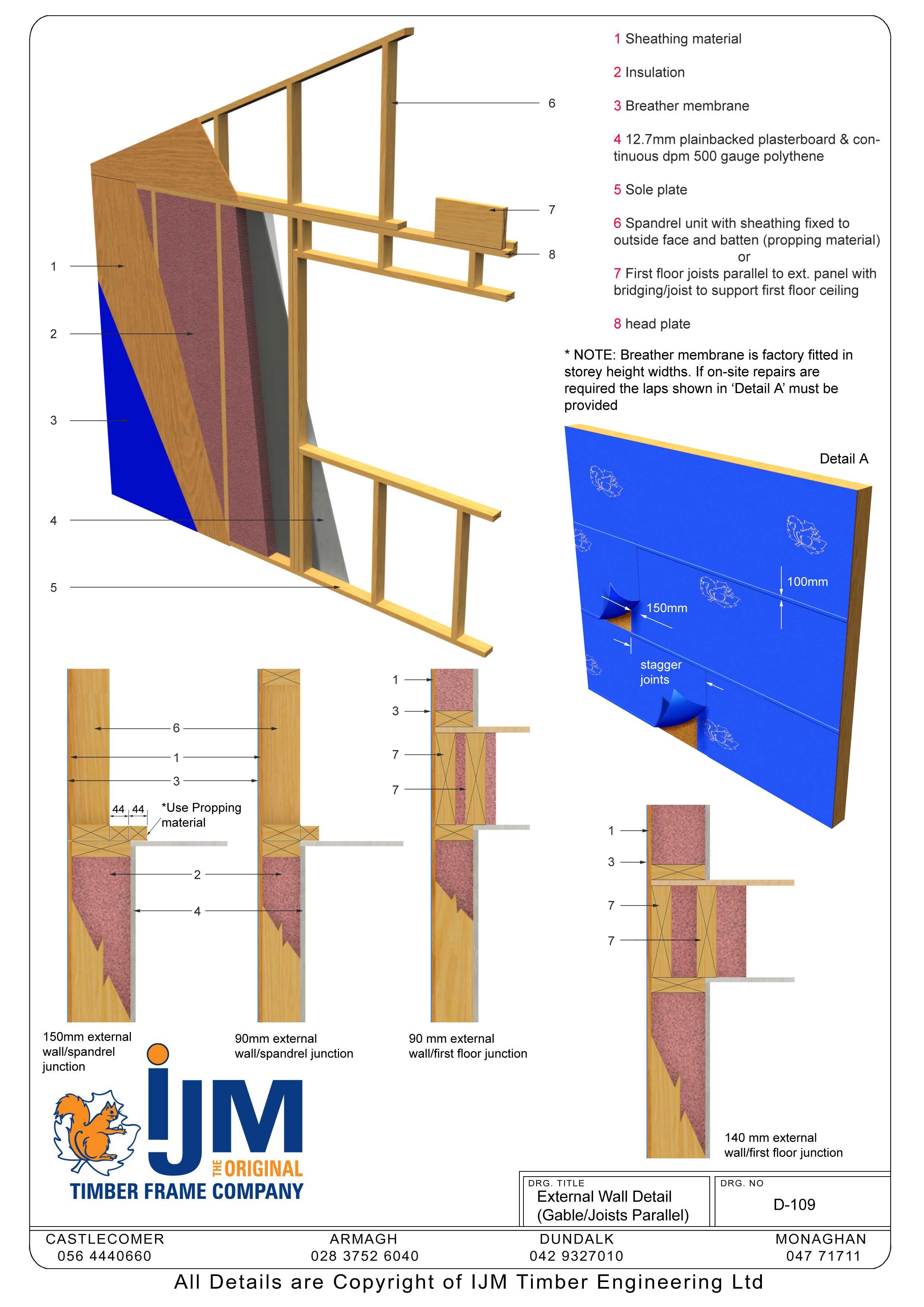 Ijm Timberframe Technical Details Book Of Details