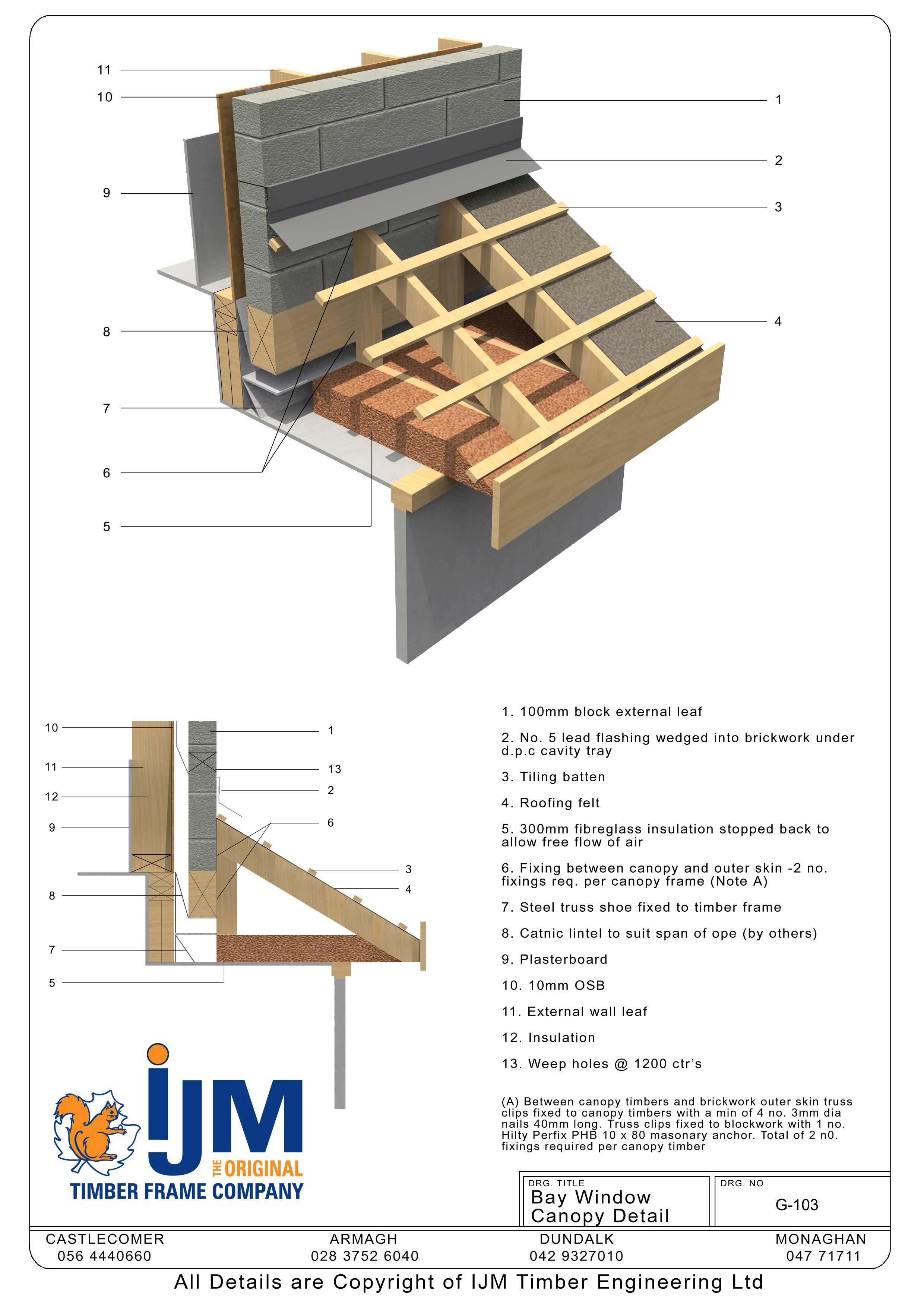 IJM Timberframe - Technical Details - Book of Details